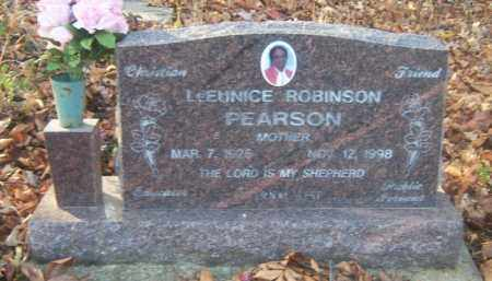 PEARSON, LEEUNICE - Cross County, Arkansas | LEEUNICE PEARSON - Arkansas Gravestone Photos