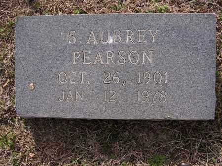 PEARSON, S AUBREY - Cross County, Arkansas | S AUBREY PEARSON - Arkansas Gravestone Photos