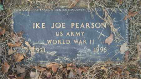 PEARSON (VETERAN WWII), IKE JOE - Cross County, Arkansas | IKE JOE PEARSON (VETERAN WWII) - Arkansas Gravestone Photos