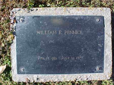 PENNICK, WILLIAM R - Cross County, Arkansas | WILLIAM R PENNICK - Arkansas Gravestone Photos