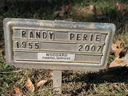 PERIE, RANDY - Cross County, Arkansas | RANDY PERIE - Arkansas Gravestone Photos