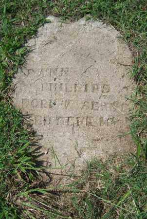 PHILLIPS, ANN - Cross County, Arkansas | ANN PHILLIPS - Arkansas Gravestone Photos