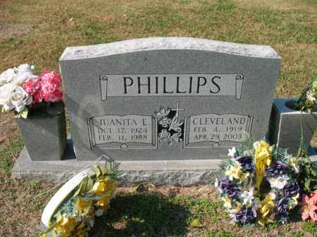 PHILLIPS, JUANITA E - Cross County, Arkansas | JUANITA E PHILLIPS - Arkansas Gravestone Photos