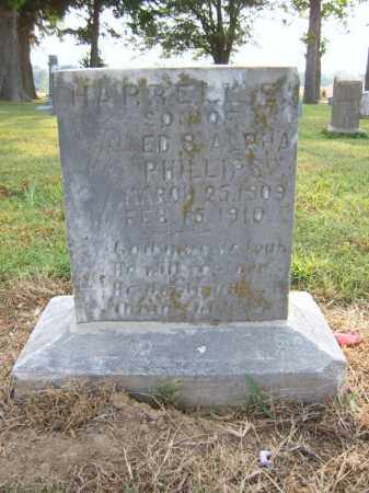 PHILLIPS, HARRELL E - Cross County, Arkansas | HARRELL E PHILLIPS - Arkansas Gravestone Photos