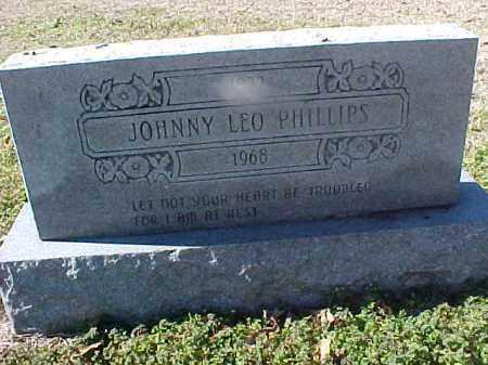 PHILLIPS, JOHNNY LEO - Cross County, Arkansas | JOHNNY LEO PHILLIPS - Arkansas Gravestone Photos