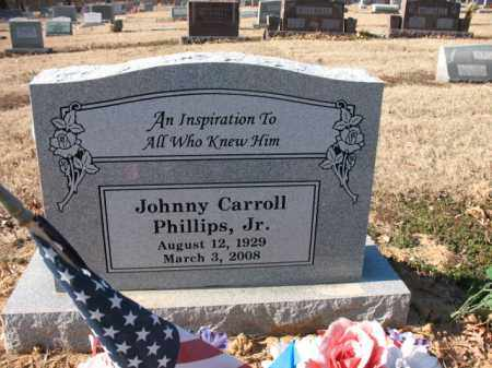 "PHILLIPS, JR, JOHN CARROLL  ""JOHNNY"" - Cross County, Arkansas 