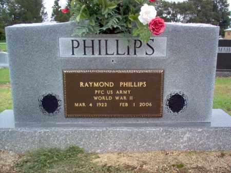 PHILLIPS (VETERAN WWII), RAYMOND - Cross County, Arkansas | RAYMOND PHILLIPS (VETERAN WWII) - Arkansas Gravestone Photos