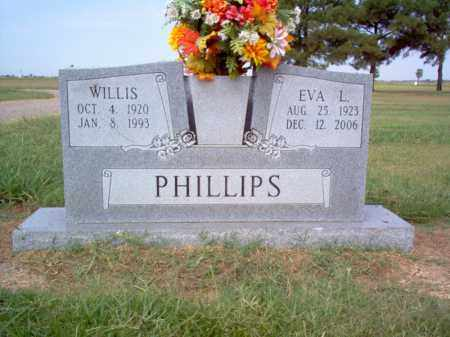 WALLER PHILLIPS, EVA L - Cross County, Arkansas | EVA L WALLER PHILLIPS - Arkansas Gravestone Photos