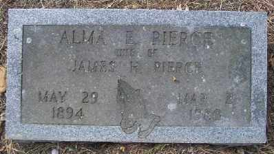 PIERCE, ALMA E. - Cross County, Arkansas | ALMA E. PIERCE - Arkansas Gravestone Photos