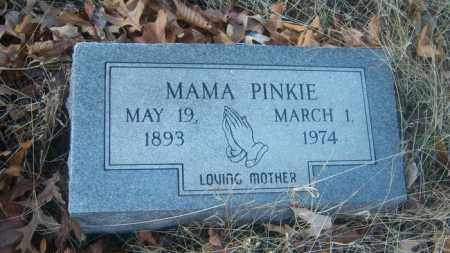 PINKIE, MAMA - Cross County, Arkansas | MAMA PINKIE - Arkansas Gravestone Photos