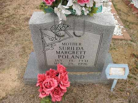 POLAND, SURILDA MARGRETT - Cross County, Arkansas | SURILDA MARGRETT POLAND - Arkansas Gravestone Photos
