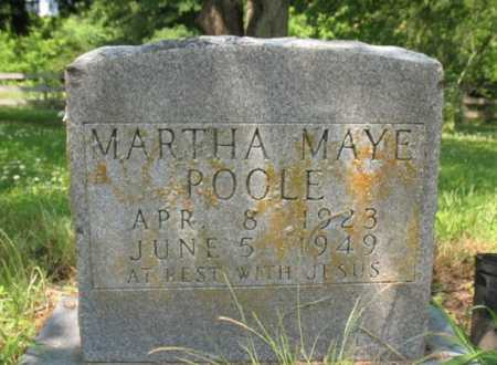 POOLE, MARTHA MAYE - Cross County, Arkansas | MARTHA MAYE POOLE - Arkansas Gravestone Photos