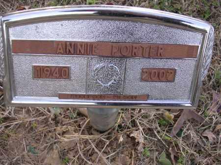 PORTER, ANNIE JEWEL - Cross County, Arkansas | ANNIE JEWEL PORTER - Arkansas Gravestone Photos