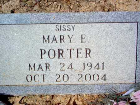 "PORTER, MARY E ""SISSY"" - Cross County, Arkansas 