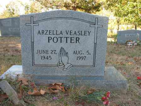 VEASLEY POTTER, ARZELLA - Cross County, Arkansas | ARZELLA VEASLEY POTTER - Arkansas Gravestone Photos