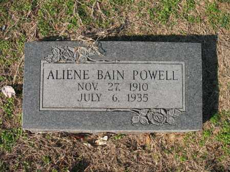 POWELL, ALIENE - Cross County, Arkansas | ALIENE POWELL - Arkansas Gravestone Photos