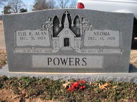 POWERS, ELDER, RODNEY ALAN - Cross County, Arkansas | RODNEY ALAN POWERS, ELDER - Arkansas Gravestone Photos