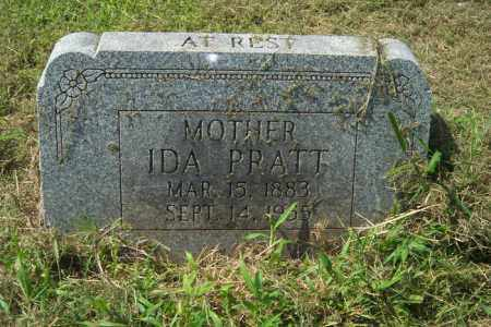 PRATT, IDA - Cross County, Arkansas | IDA PRATT - Arkansas Gravestone Photos