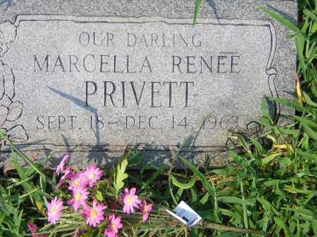 PRIVETT, MARCELLA RENEE - Cross County, Arkansas | MARCELLA RENEE PRIVETT - Arkansas Gravestone Photos