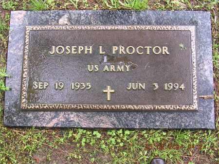 PROCTOR  (VETERAN), JOSEPH L - Cross County, Arkansas | JOSEPH L PROCTOR  (VETERAN) - Arkansas Gravestone Photos