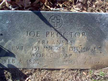 PROCTOR (VETERAN WWI), JOE - Cross County, Arkansas | JOE PROCTOR (VETERAN WWI) - Arkansas Gravestone Photos