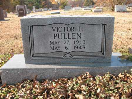 PULLEN, VICTOR L - Cross County, Arkansas | VICTOR L PULLEN - Arkansas Gravestone Photos