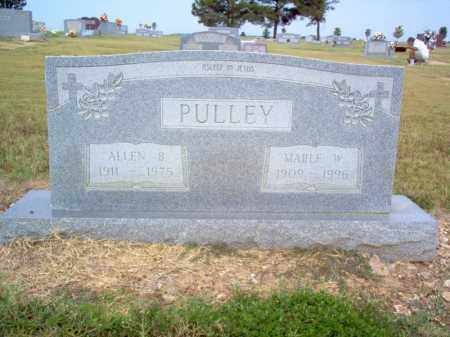 PULLEY, MABLE W - Cross County, Arkansas | MABLE W PULLEY - Arkansas Gravestone Photos