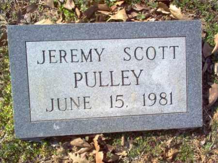PULLEY, JEREMY SCOTT - Cross County, Arkansas | JEREMY SCOTT PULLEY - Arkansas Gravestone Photos