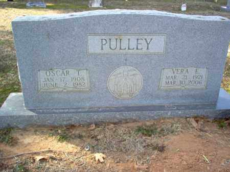 PULLEY, OSCAR T - Cross County, Arkansas | OSCAR T PULLEY - Arkansas Gravestone Photos