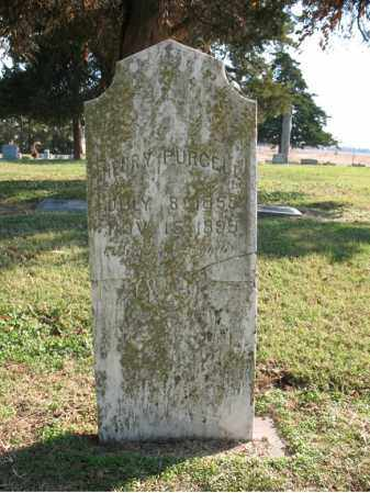 PURCELL, HENRY - Cross County, Arkansas | HENRY PURCELL - Arkansas Gravestone Photos