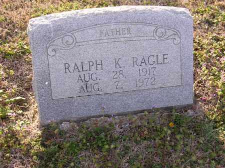 RAGLE, RALPH K - Cross County, Arkansas | RALPH K RAGLE - Arkansas Gravestone Photos