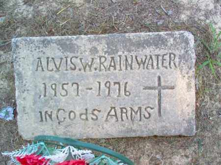 RAINWATER, ALVIS W - Cross County, Arkansas | ALVIS W RAINWATER - Arkansas Gravestone Photos