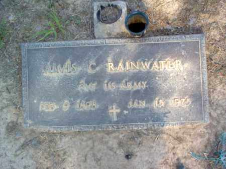 RAINWATER (VETERAN), ALVIS C - Cross County, Arkansas | ALVIS C RAINWATER (VETERAN) - Arkansas Gravestone Photos