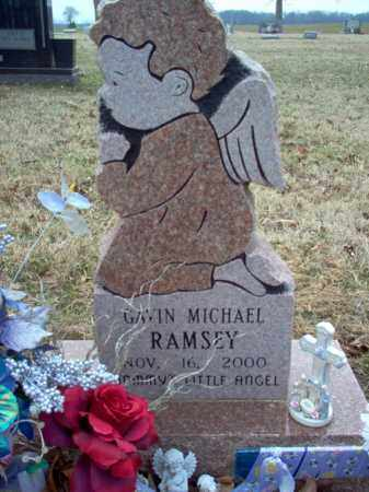 RAMSEY, GAVIN MICHAEL - Cross County, Arkansas | GAVIN MICHAEL RAMSEY - Arkansas Gravestone Photos