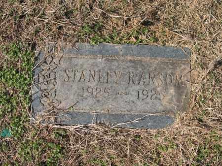 RANSOM, STANLEY - Cross County, Arkansas | STANLEY RANSOM - Arkansas Gravestone Photos