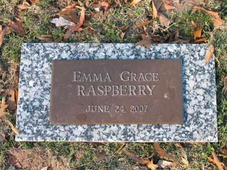 RASPBERRY, EMMA GRACE - Cross County, Arkansas | EMMA GRACE RASPBERRY - Arkansas Gravestone Photos