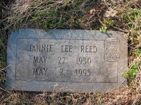 REED, JANNIE LEE - Cross County, Arkansas | JANNIE LEE REED - Arkansas Gravestone Photos