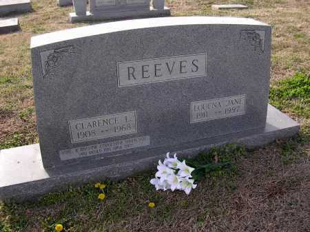 REEVES, LOUENA JANE - Cross County, Arkansas | LOUENA JANE REEVES - Arkansas Gravestone Photos