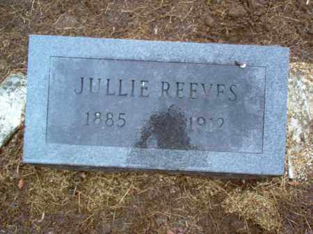 REEVES, JULLIE - Cross County, Arkansas | JULLIE REEVES - Arkansas Gravestone Photos