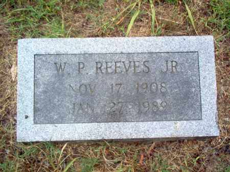 REEVES, JR., W P - Cross County, Arkansas | W P REEVES, JR. - Arkansas Gravestone Photos