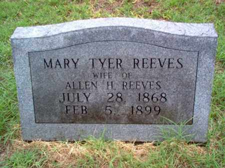 REEVES, MARY - Cross County, Arkansas | MARY REEVES - Arkansas Gravestone Photos