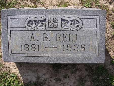 REID, A B - Cross County, Arkansas | A B REID - Arkansas Gravestone Photos