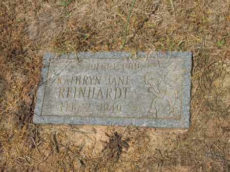 REINHARDT, KATHRYN JANE - Cross County, Arkansas | KATHRYN JANE REINHARDT - Arkansas Gravestone Photos