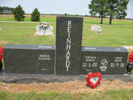 PARKER REINHARDT, VIRGINIA - Cross County, Arkansas | VIRGINIA PARKER REINHARDT - Arkansas Gravestone Photos