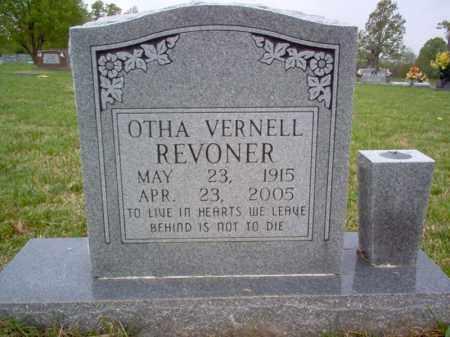 REVONER, OTHA VERNELL - Cross County, Arkansas | OTHA VERNELL REVONER - Arkansas Gravestone Photos