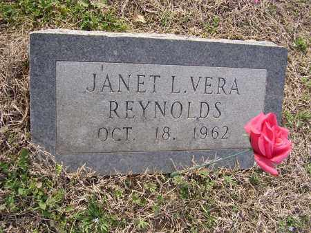 REYNOLDS, JANET L VERA - Cross County, Arkansas | JANET L VERA REYNOLDS - Arkansas Gravestone Photos