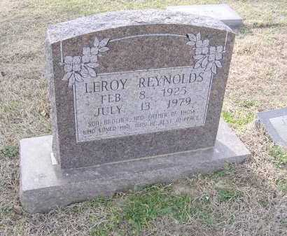 REYNOLDS, LEROY - Cross County, Arkansas | LEROY REYNOLDS - Arkansas Gravestone Photos