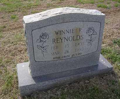 REYNOLDS, WINNIE R - Cross County, Arkansas | WINNIE R REYNOLDS - Arkansas Gravestone Photos