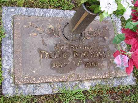 RHODES, DELIE - Cross County, Arkansas | DELIE RHODES - Arkansas Gravestone Photos