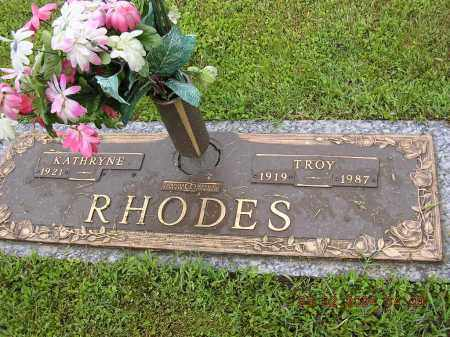 RHODES, DAVID TROY - Cross County, Arkansas | DAVID TROY RHODES - Arkansas Gravestone Photos